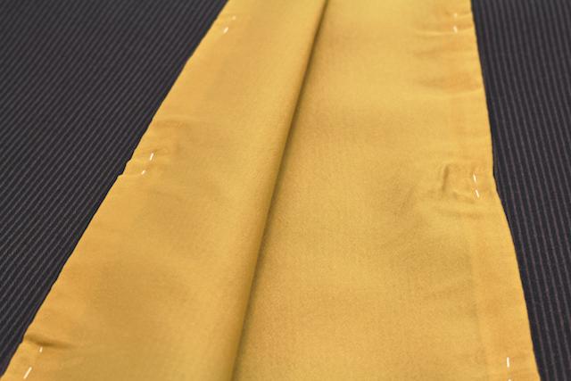 ナカノヒロミチの玉縞文様プレタ着物