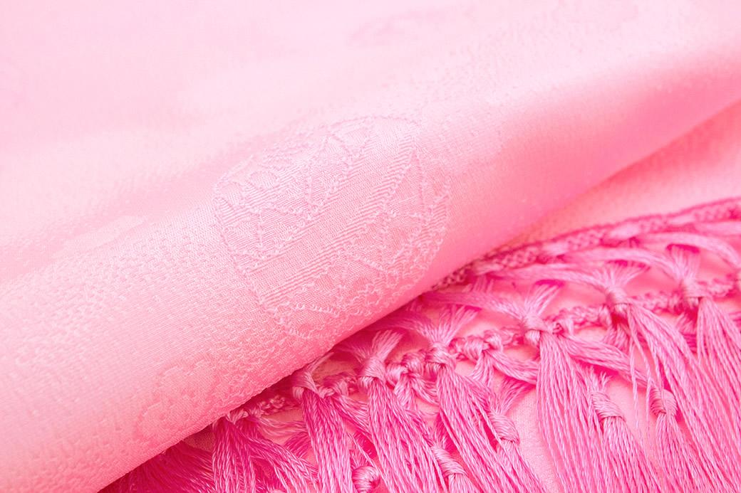 可愛らしく華やかな女児用の正絹しごき