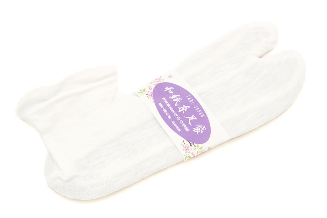 夏着物におすすめな天然素材のソックス足袋(たび)