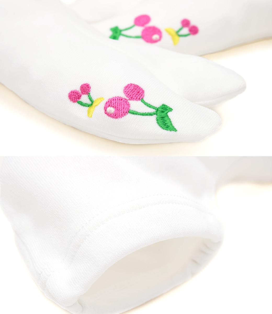 ご自宅でお手入れ可能なキッズ用の足袋(たび)