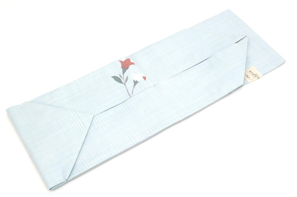 【訳あり】シンプルで上品な正絹九寸名古屋帯