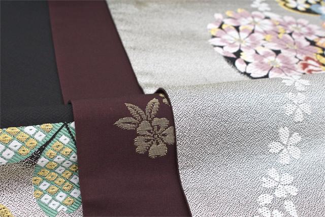 【訳あり】成人式や卒業式の振袖着物に合う高級袋帯