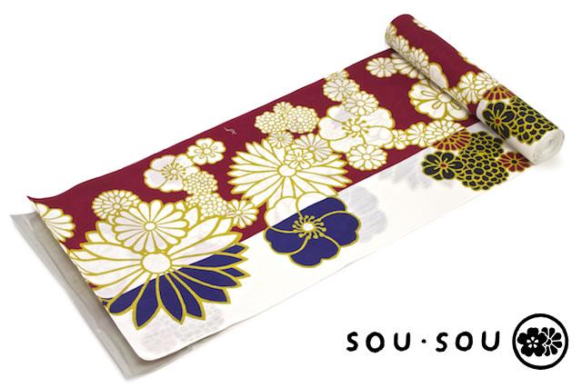 人気ブランド「SOU・SOU」のレディース未仕立て浴衣