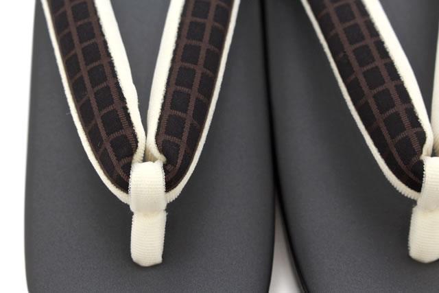 老舗ブランド『白梅』カジュアルな着物におすすめな草履