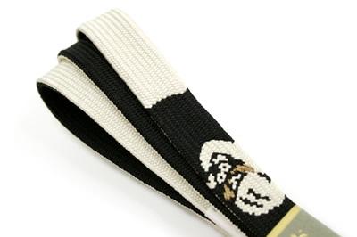 帯締め,帯じめ,帯〆,おびじめ,手組紐,リバーシブル,だるま,黒,白,紬,小紋