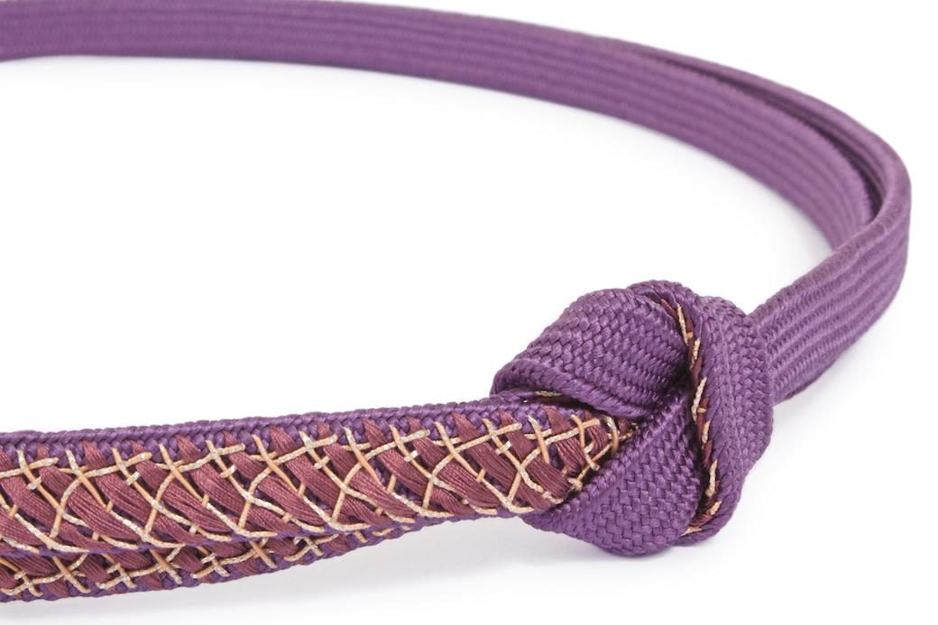 伝統工芸品「伊賀前沢工房」日本製正絹の帯締め