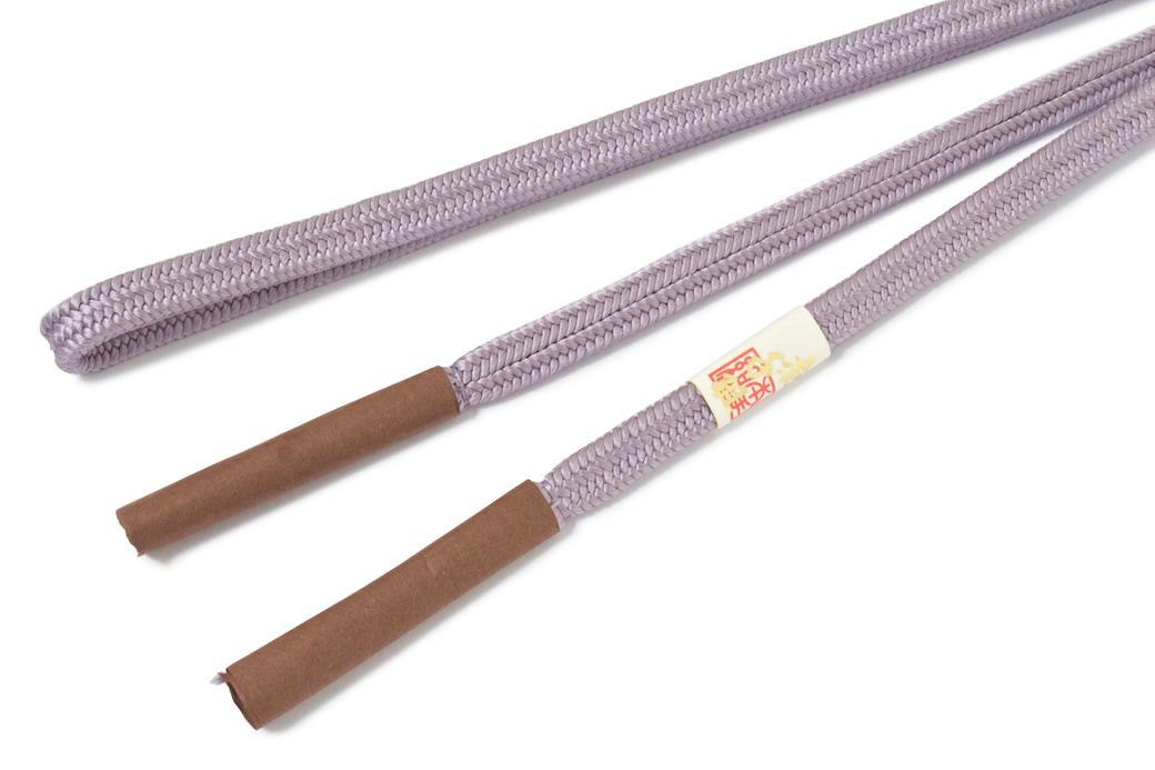 本手組の正絹帯締め