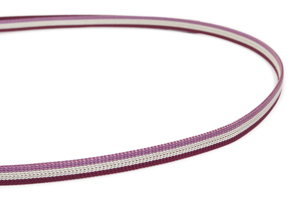 女性のカジュアルな着物を彩る日本製の正絹帯締め