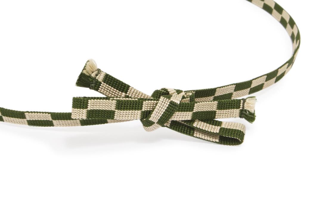 カジュアルな着物にもオススメな日本製の正絹帯締め