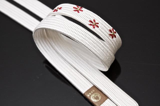 帯締め,帯じめ,帯〆,おびじめ,手組紐,小花,刺繍,小紋b
